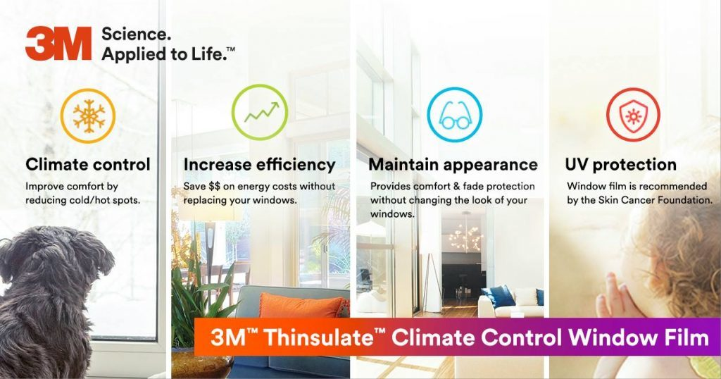 Upgrade Existing Windows in New Orleans, Louisiana with 3M Thinsulate Window Film - Window Tinting in New Orleans, Louisiana 2