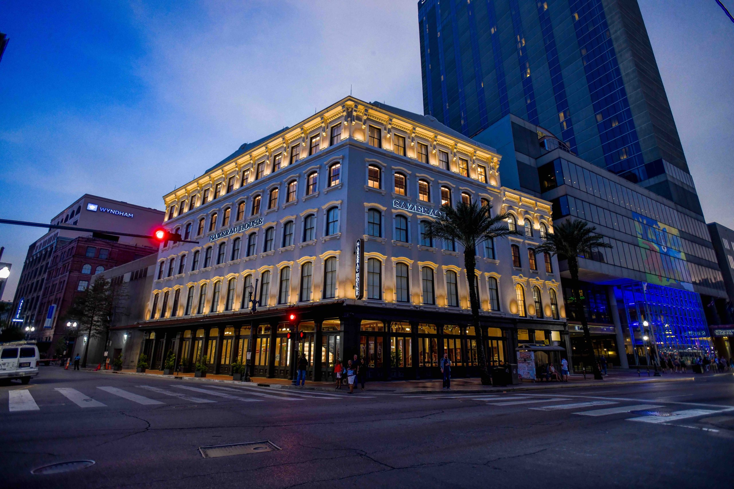 We Help Sazerac House Upgrade Existing Glass With 3M Window Film - Commercial Safety and Security Window Film in New Orleans, Louisiana 2